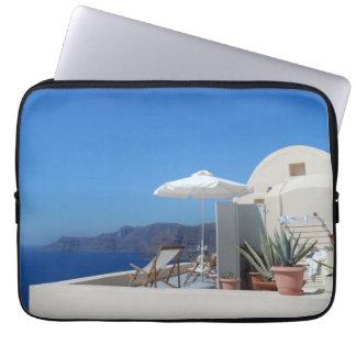 Santorini, Greece Laptop Computer Sleeves