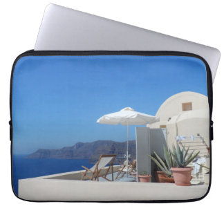 Santorini, Greece Computer Sleeve