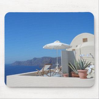 Santorini, Greece Mouse Pad