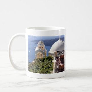 Santorini, Greece Classic White Coffee Mug