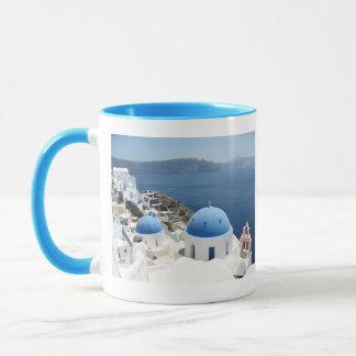 Santorini Greece Mug