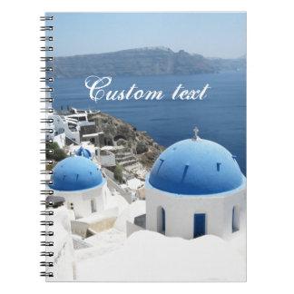 Santorini Greece Notebook