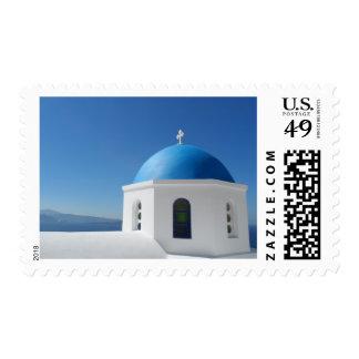 Santorini, Greece Stamp