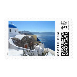 Santorini, Greece Postage Stamp