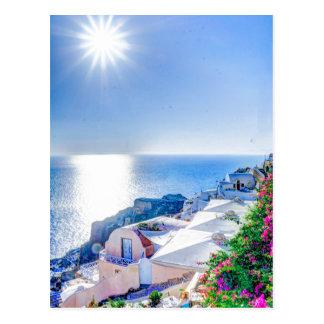 Santorini Greece Post Card