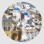Santorini, Greece Stickers