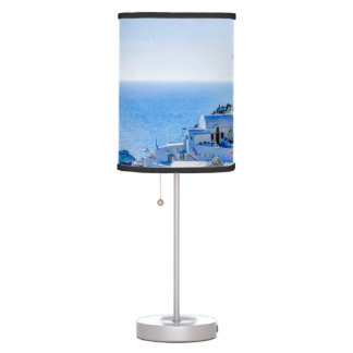 Santorini Greece Table Lamp