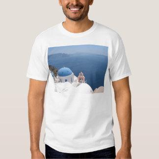 Santorini Greece Tee Shirt