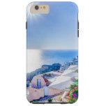Santorini Greece Tough iPhone 6 Plus Case