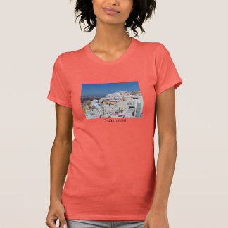 Santorini, Greece T Shirts