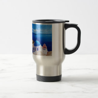 Santorini, Greece - View from Oia Travel Mug