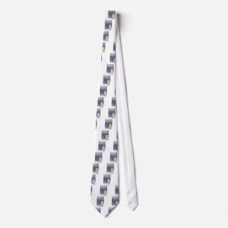 Santorini Greece view from Oia Vintage style Tie