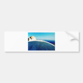 Santorini Greek Island Photo Colette ( CHG) Bumper Sticker