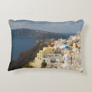 Santorini in the Afternoon Sun Decorative Pillow
