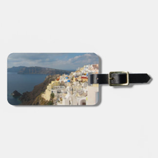 Santorini in the Afternoon Sun Luggage Tag