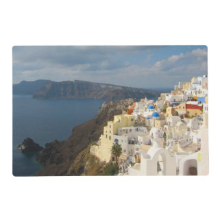 Santorini in the Afternoon Sun Placemat