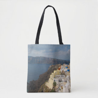 Santorini in the Afternoon Sun Tote Bag