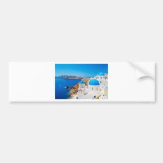 Santorini Island - Caldera, Greece Bumper Sticker