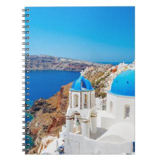 Santorini Island - Caldera, Greece Notebooks