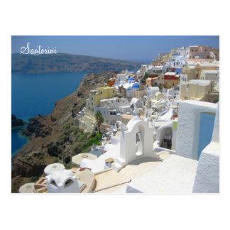 Santorini island Greece Postcards