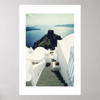 Santorini Island, Greece Print