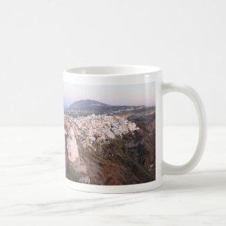 Santorini Island in Greece Coffee Mug