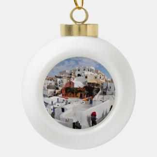Santorini Ornaments  Keepsake Ornaments  Zazzle