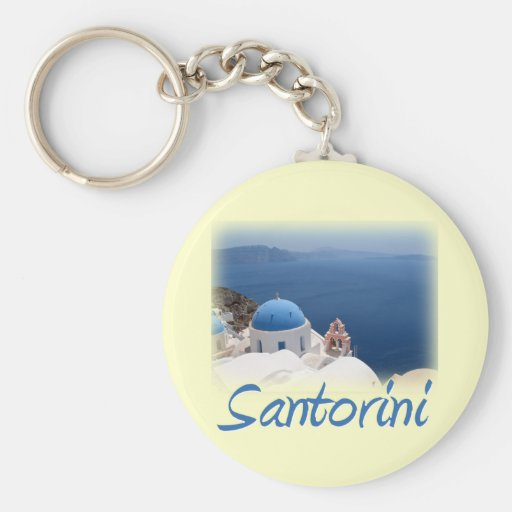 Santorini Keychains