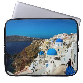 Santorini, las islas griegas fundas ordendadores