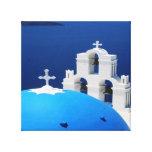 Santorini Lona Envuelta Para Galerias