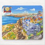 Santorini Mouse Pad