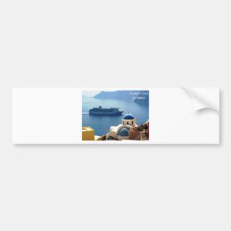 Santorini_Oia Bumper Sticker