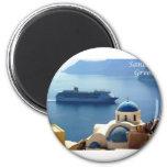 Santorini_Oia Imán De Frigorífico