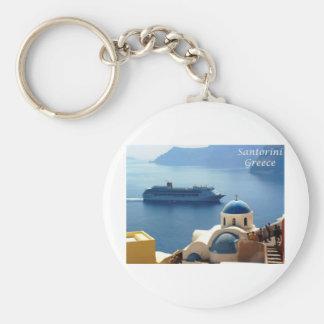 Santorini_Oia Key Chain