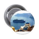 Santorini_Oia Pin Redondo 5 Cm
