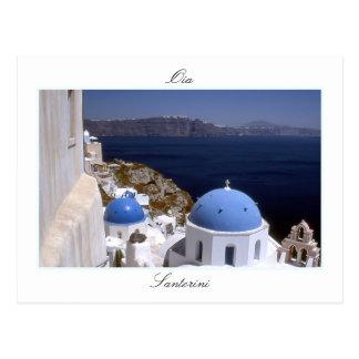 Santorini, Oia Postcard