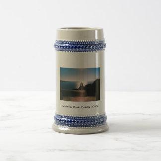...Santorini Photo Colette ( CHG) Beer Stein