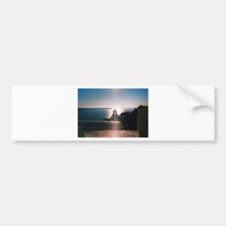 Santorini Photo Colette ( CHG) Bumper Sticker