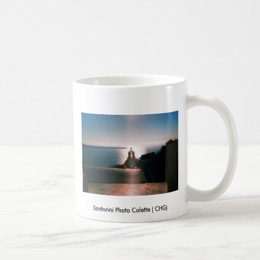 Santorini Photo Colette ( CHG) Classic White Coffee Mug