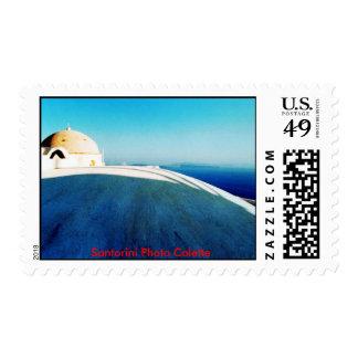 Santorini Photo Colette Postage