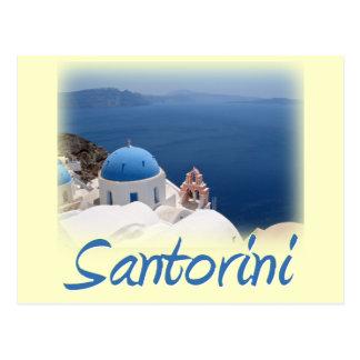 Santorini Postcard