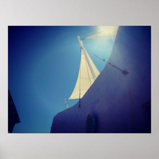 Santorini Poster