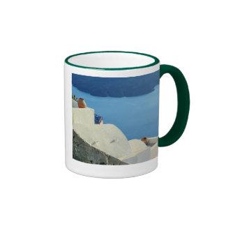 Santorini Ringer Mug