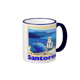 Santorini, Santorini Taza De Dos Colores
