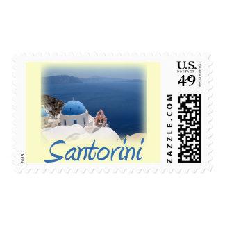 Santorini Stamp