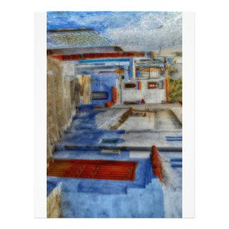 Santorini Steps Letterhead