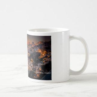 Santorini Sunset, Greece Coffee Mug
