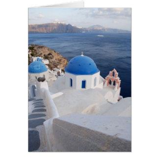 Santorini Tarjeta De Felicitación
