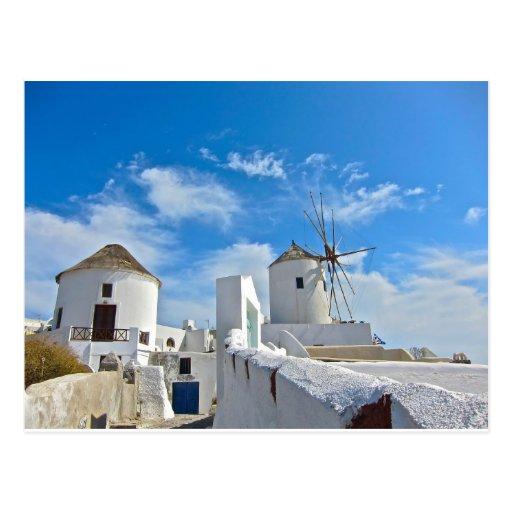 Santorini Tarjetas Postales