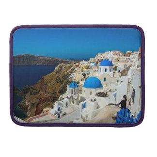 Santorini, The Greek Islands - Macbook Pro Sleeve